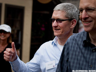 Did Tim Cook Signal Apple's Top?