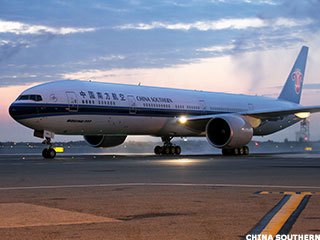 China Southern, at Last, Flies to New York Thanks to Its Boeing 777-300ER