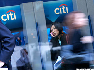 Financial Stock Winners and Losers: Citigroup