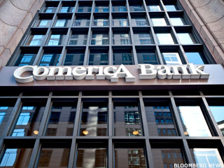 Comerica 'Best Positioned' for Rate Rise: Financial Winner