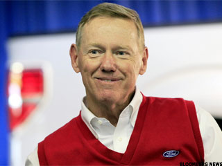 Ford Says CEO Alan Mulally Will Stay at Least Through 2014 (Update 1)
