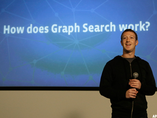 Facebook Unveils Graph Search; Investors Groan