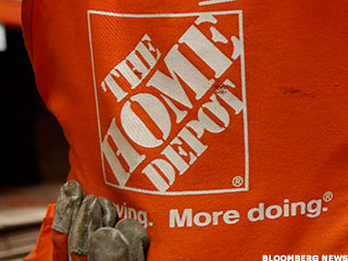 Home Depot's Online Sales Sizzle