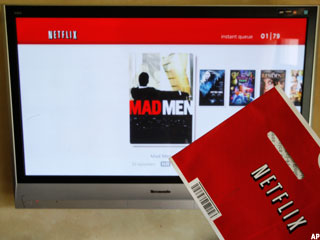 Netflix Gets Social, Adds Facebook
