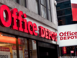 Office Depot, OfficeMax Spike on Merger Talk (Update 1)