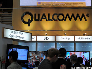 Qualcomm's Shares Surge as Business Goes Gangbusters
