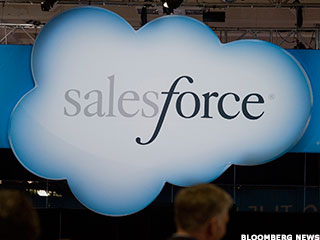 Salesforce CEO Benioff Lays Out Cloud, Mobile Strategy