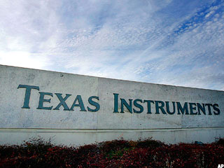 Texas Instruments Beats, Eyes Better Economy