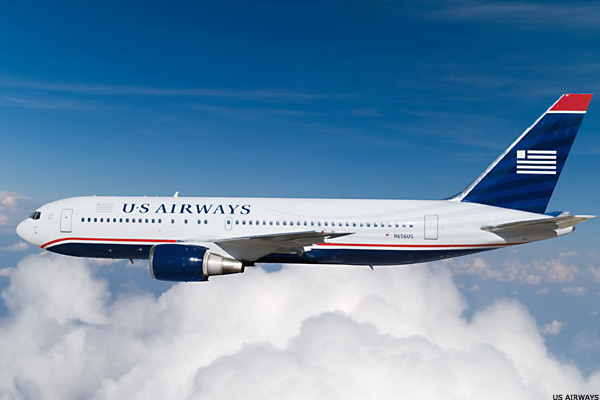 Delta, US Airways Report Rare Profit