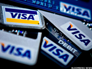 Visa Shares Fall on Weak 2014 Outlook