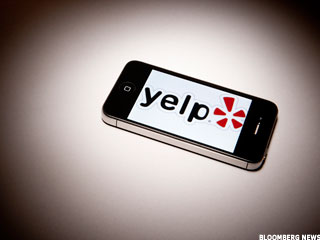 Yelp Shrugs Off Facebook Challenge, Shares Soar