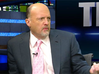 Jim Cramer's 7 Stocks in 60 Seconds: HOT PNRA CHK MDSO ESRX CVS SAN (Update 1)