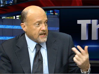 Cramer's 6 Stocks in 60 Seconds: AIG KORS RHT ACN EAT KMX (Update 1)