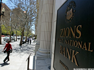 Zions Rises Over 2% on Flat Day for Bank Stocks