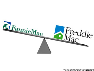 Fannie Mae and Freddie Drop 39% Over Two Days