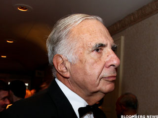 Carl Icahn Joins Warren Buffett on Twitter