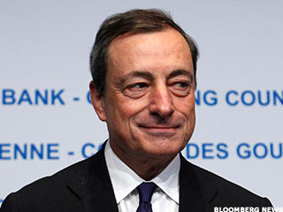 Draghi Knocks U.S. Participation Rate, Shrugs at Debt Ceiling