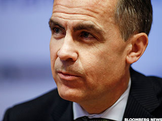 Bank of England Governor Makes a Twitter Joke for Central Bankers