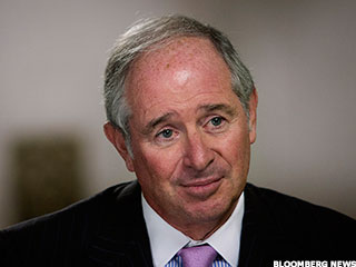 Blackstone's Schwarzman Thanks Bernanke for Stellar 2013