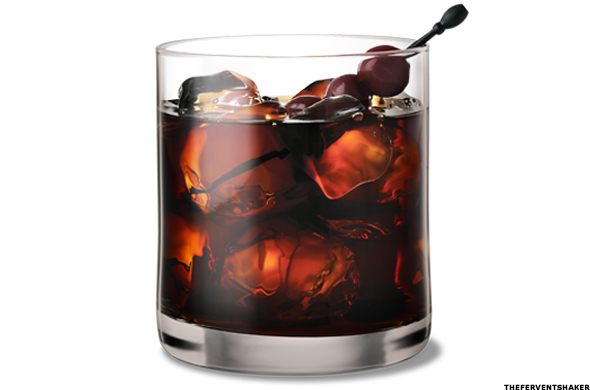 Black Russian Vodka Drink