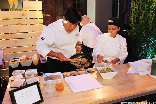 Chefs Celebrate Cooking Light