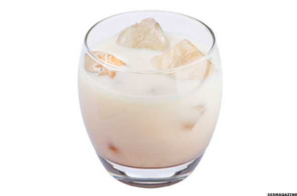 White Russian Vodka Drink