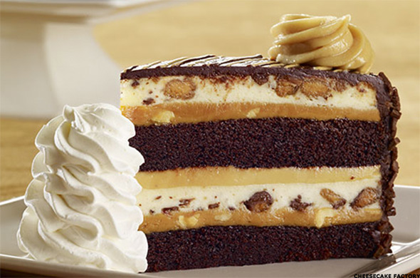 cheesecake factory carrot cake the 15 most unhealthy meals from u s chain restaurants 2766