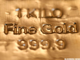 Gold Prices Plunge on Better GDP Report (Update1)