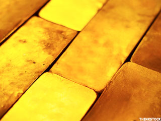 Gold Prices Gain as Euro Retreats (Update 1)