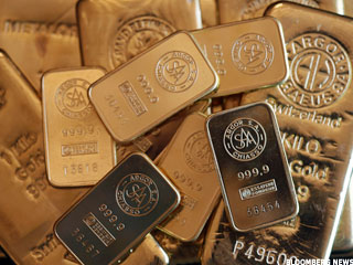 Gold Prices Dip Ahead of Economic Data Glut (Update 1)