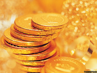 Gold Prices Inch Higher as Inflation Climbs (Update 1)
