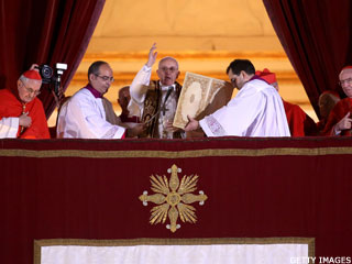 Taking the Reins, Pope Francis Needs to 'Lean In'