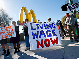 Unions Focus on Fast Food Worker Battle