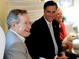 George H.W. Bush Is in 'Great Health,' Friend Says