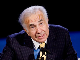 Icahn Nears First 2012 Win With CVR Energy Bid (Update 1)