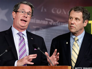 Brown-Vitter Unveil 'Too Big to Fail' Bill