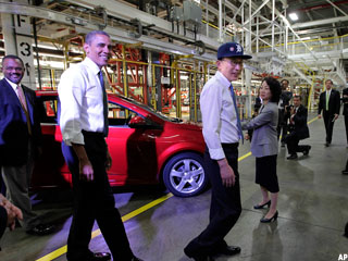 GM Puts Obama in the Driver's Seat