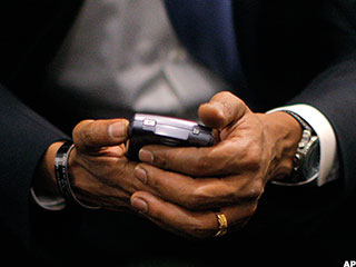 Is President Obama Finally Ditching His BlackBerry?