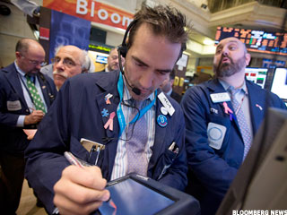 Dow Hits Five-Year High on Bernanke Comments, Data
