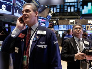 Stocks Mixed; Wal-Mart Tumbles, Burger King Jumps