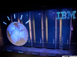 IBM Touts Watson Supercomputer for Investors