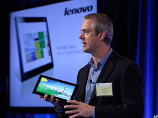 Lenovo Prepares to Ride Windows 8 Wave