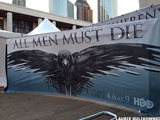 Game of Thrones Premiere: One Fan's Experience