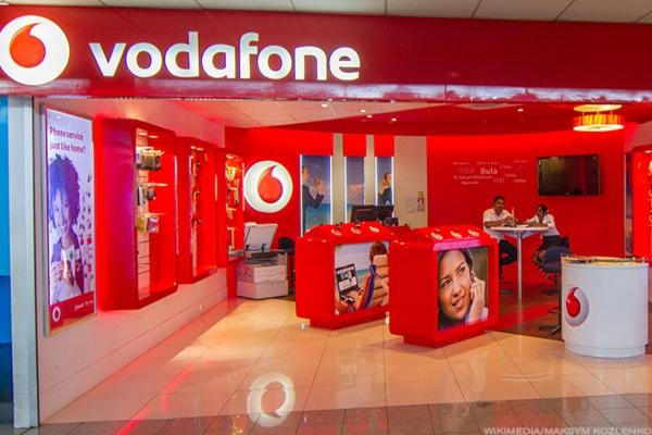 Vodafone Shares Top FTSE 100