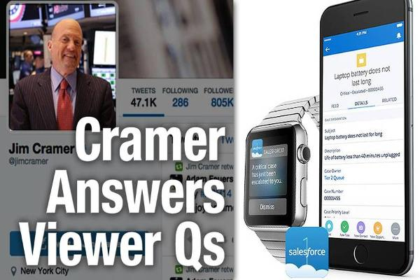 Jim Cramer Says Oracle Is Okay, But He Really Likes Salesforce.com
