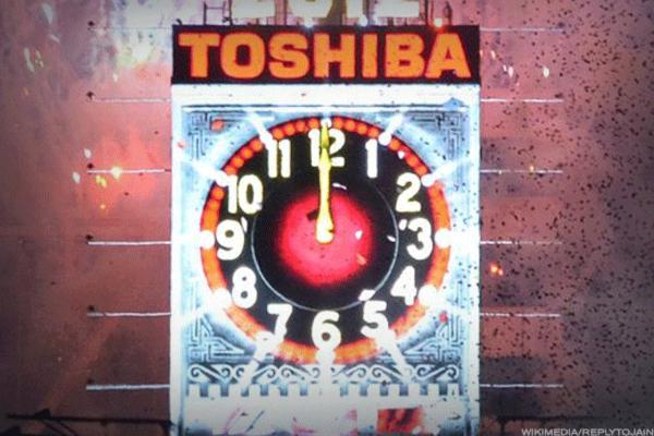 Toshiba Shares Tank; Stock May Be Delisted