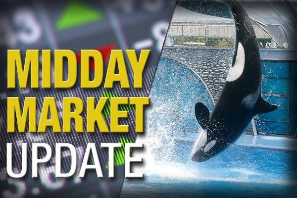 Midday Report: SeaWorld to End Orca Program; Stocks Climb