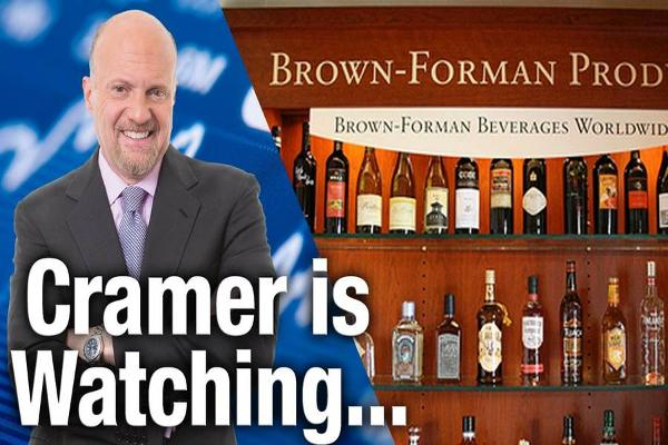 Jim Cramer Is Keeping an Eye on Brown Forman Results Wednesday