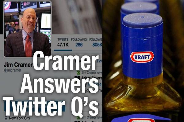 Jim Cramer Says Buy Kraft, Monster Beverage, Sell Hertz