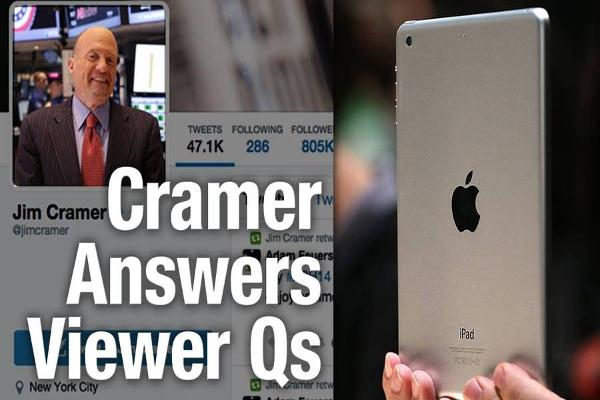 Jim Cramer Says Remember His Mantra, 'Own Apple, Don't Trade It'